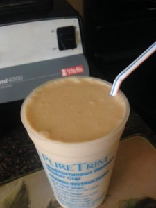 peanut butter pure trim shake full
