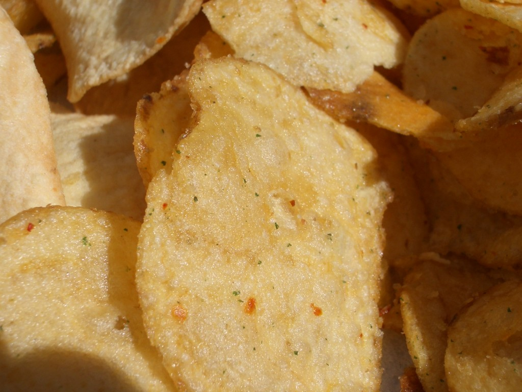 Crispy Crunchy Healthy Alternative to Potato Chips