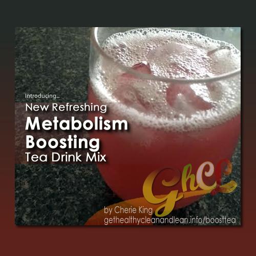 Pure Trim Boost - metabolism boosting tea drink mix