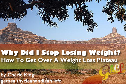Why Did I Stop Losing Weight - How To Get Over A Weight Loss Plateau